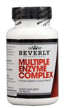 Beverly International Multiple Enzyme Complex - 100 Tablets