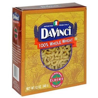 DaVinci Whole Wheat Elbows, 12-Ounce Boxes (Pack of 12)