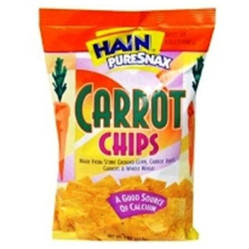 Hain Pure Snax Carrot Chips, 8 Ounce Bags (Pack of 12)
