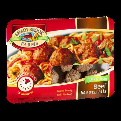 Shady Brook Farms Beef Meatballs Italian Style