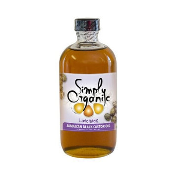 Simply Organic Oils - Jamaican Black Castor Oil Lavender - 8 oz.