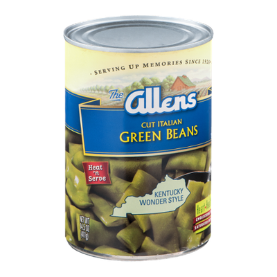 The Allens Cut Italian Green Beans Kentucky Wonder Style