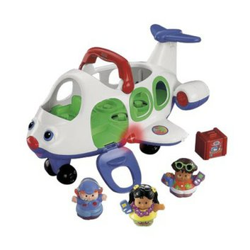 Little People Fisher-Price  Lil' Movers Airplane