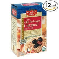 Arrowhead Mills Organic Hot Cereal, Old-fashioned Oatmeal, 16-Ounce Boxes (Pack of 12) ( Value Bulk Multi-pack)