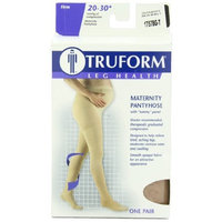 Truform 1757, Maternity Compression Pantyhose, 20-30 mmHg, Beige, Tall