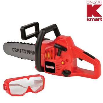 Red Box Toy Factory Limited My First Craftsman Power Chain Saw With Goggles - RED BOX TOY FACTORY LIMITED