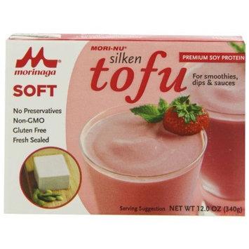 Mori Nu Morinu Soft Tofu, Silken, 12-Ounce Packages (Pack of 12)