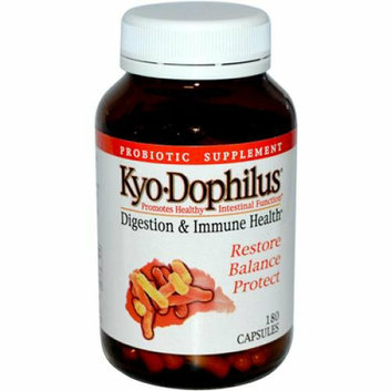 Kyolic Kyo-Dophilus Digestion and Immune Health 180 Capsules