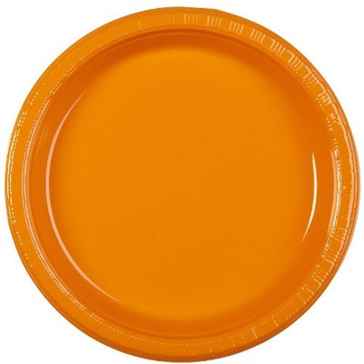 Creative Converting Touch of Color 20 Count Plastic Lunch Plates