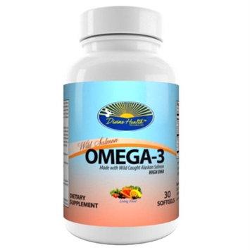 Divine Health Wild Alaskan Salmon Omega-3 30 Capsules