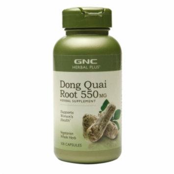 Gnc Herbal Plus Formula GNC Herbal Plus Dong Quai Root 550mg