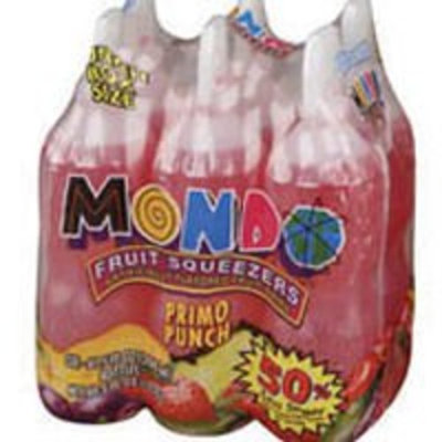 Mondo Primo Punch Fruit Squeezers, 8 OZ (Case of 8)