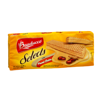 Bauducco Selects Peanut Butter Wafer