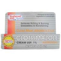 Clotrimazole Antifungal Cream 1% - 1 Oz