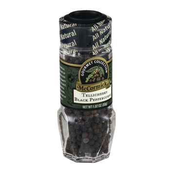 McCormick® Gourmet Collection Tellicherry Black Peppercorns