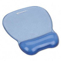 Innovera Gel Mouse Pad and Wrist Rest Blue