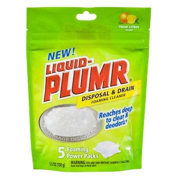 Clorox Liquid-Plumr Disposal & Drain Foaming Cleaner 5 ct