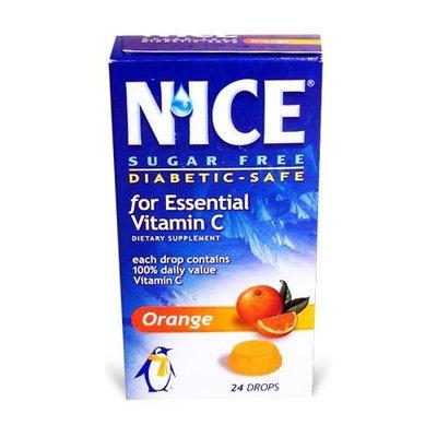 N' ICE NICE Vitamin C Orange, Boxes (Pack of 6)
