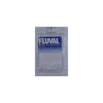 Fluval Exhaust Stem Plug for Canister Filter, 12-Millimeter, Gray, 2-Pack