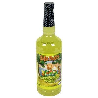 Baja Bob's Loco Lemon Sweet N Sour Mix, Sugar Free, 32-Ounce Bottles (Pack of 3)