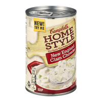 Campbell's® Homestyle Soup New England Clam Chowder Soup