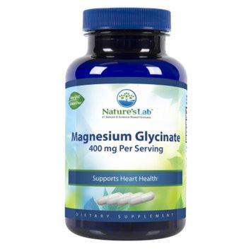 Nature's Lab Magnesium Glycinate, 400mg, Capsules, 120 ea