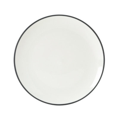 Noritake Colorwave Graphite Coupe Salad Plate