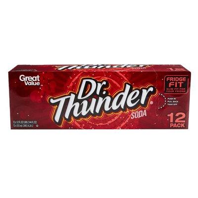 Dr. Thunder Dr Thunder Soda, 12 fl oz, 12-Pack