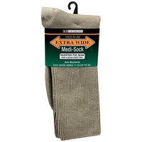 Extra Wide Medical Socks Mens Tan