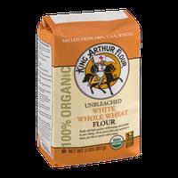 King Arthur Flour 100% Organic Unbleached White Whole Wheat Flour