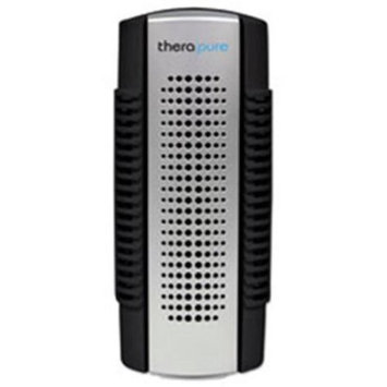 Envion TPP50BLK Therapure Mini Air Purifier 1-Speed Black & Silver
