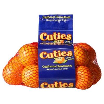 Cuties California Clementines 3 lb bag