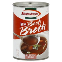 Manischewitz Beef Broth, 14-Ounce Cans (Pack of 12)