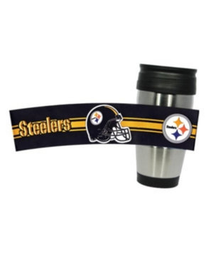 Hunter Manufacturing Pittsburgh Steelers 15 oz. Stainless Steel Travel Tumbler