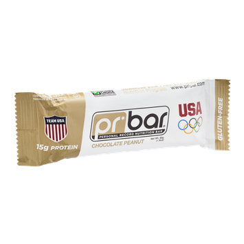 PR Bar Personal Record Nutritional Bar Chocolate Peanut - Gluten Free