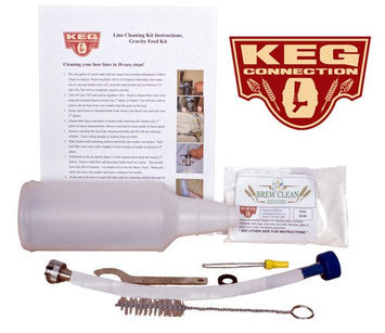Beverage Factory Kegco Economy Keg Beer Line Kegerator Cleaning Kit