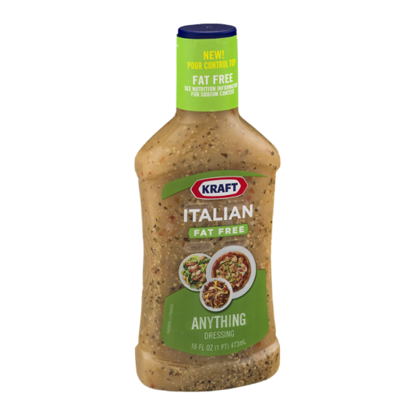 Kraft Anything Dressing Italian Fat Free