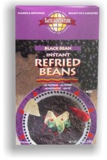 Black Refried -Instant Organic Taste Adventure 6 oz Box