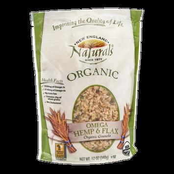 New England Naturals Organic Granola Omega Hemp & Flax