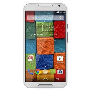 Motorola Moto X - 2nd Generation, White Bamboo 16GB (AT&T) [{