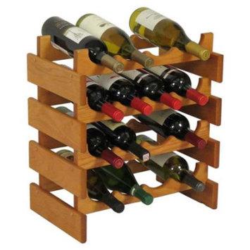 Wooden Mallet WR44MO 16 Bottle Dakota Wine Rack