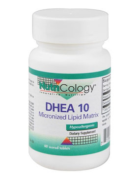 DHEA Micronized Lipid Matrix 10 mg 60 Tabs by Nutricology/ Allergy Research Group
