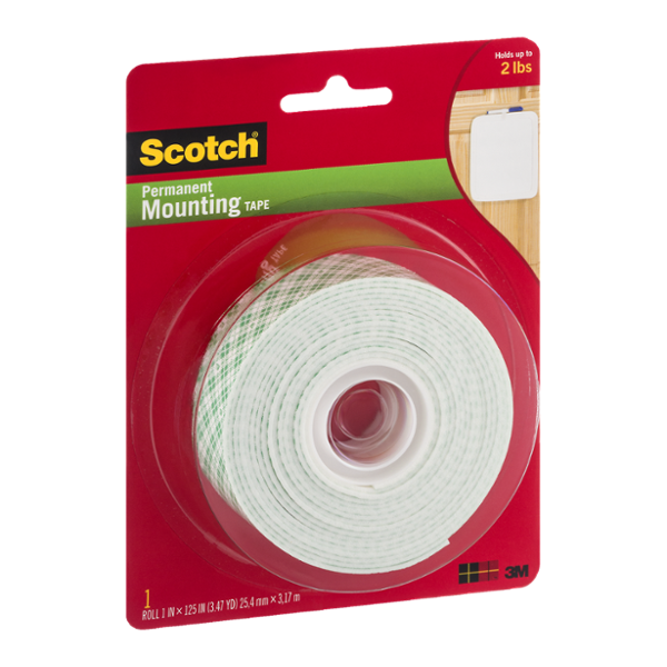 Scotch Permanent Mounting Tape