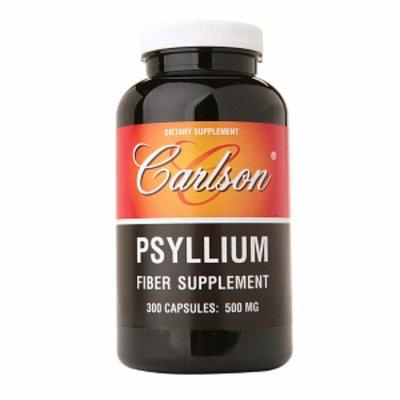 Carlson Psyllium Fiber Supplement 500mg