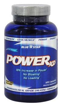 Blue Star Nutraceuticals - Power XD Pharmaceutical Grade Creatine Formula - 120 Capsules
