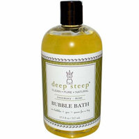 Deep Steep Bubble Bath Rosemary Mint 17 fl oz