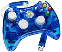 Performance Designed Products, Llc Performance Design Rock Candy Wired Controller For Xbox 360 - Blue