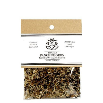 India Tree Panch Phoron, 1 oz (Pack of 4)