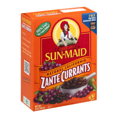 Sun-Maid Natural California Zante Currants
