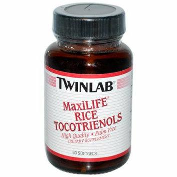 Twinlab MaxiLIFE Rice Tocotrienols 50 mg 60 Softgels